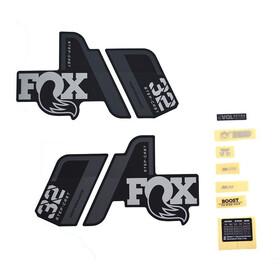 Fox Racing Shox 32 SC P-S Decal Kit, grey/matte black